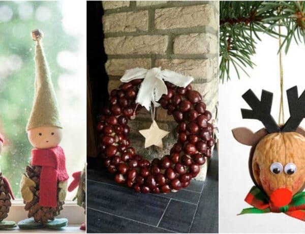 3 karácsonyi dísz termésekből, amit a gyerkőccel közösen is elkészíthetsz