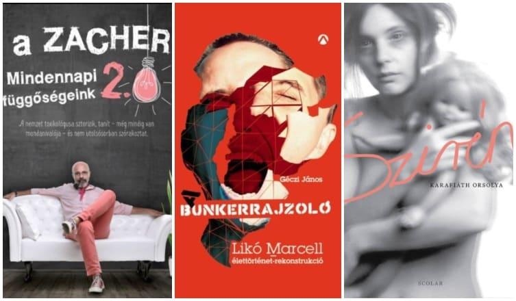 3 szókimondó könyv a függőségekről – ismert magyarok vallomásaival