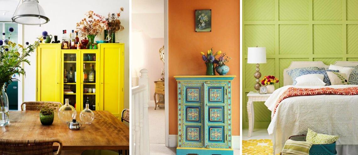 3 vibráló szín, végtelen lehetőség: Így használd a nyár színeit a lakásban
