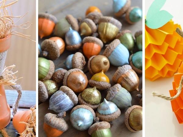 4 őszi kézműves projekt gyerekekkel – Imádni fogják!
