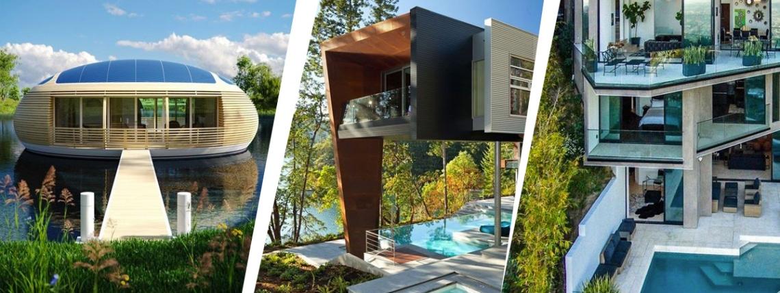 4 elképesztően kreatív ház, amiben élmény lakni! Te melyikben élnél szívesen?