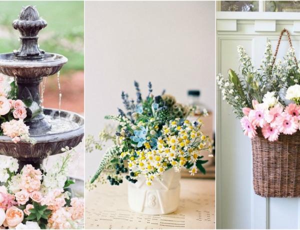 5 csodaszép tavaszi virág dekor, amit ki kell próbálnod
