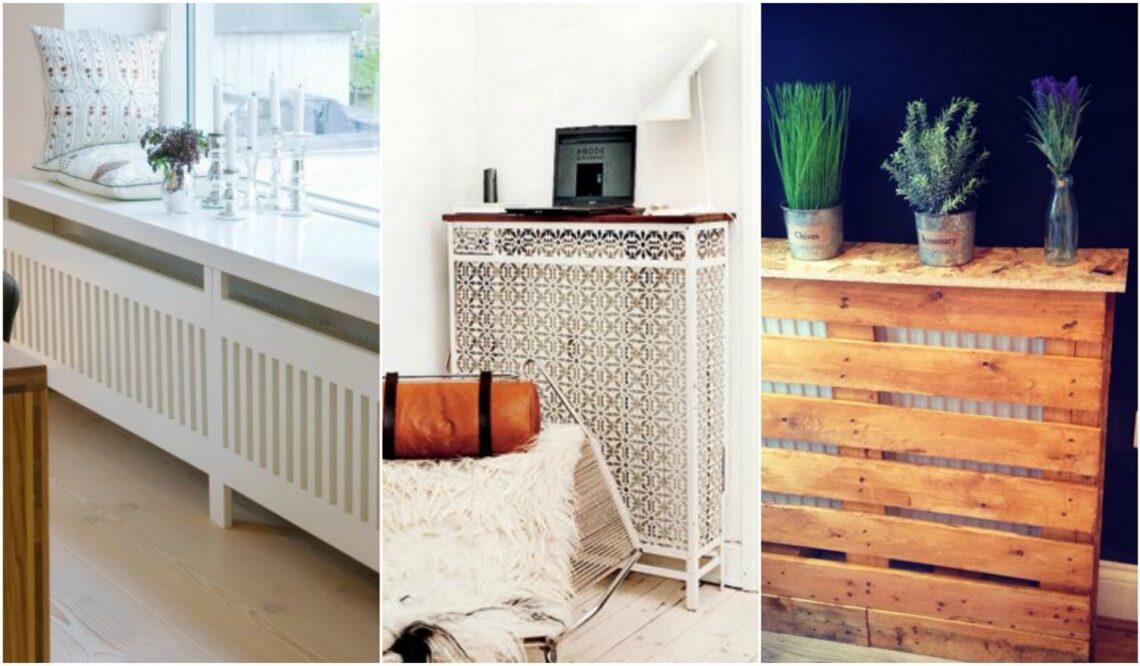 5 dekoratív radiátor burkolat, hogy a fűtőtest ne rontsa az összképet