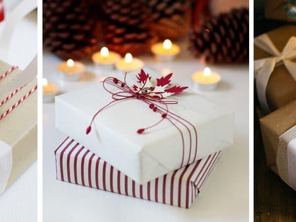 5 egyszerű és különleges csomagolási ötlet karácsonyra