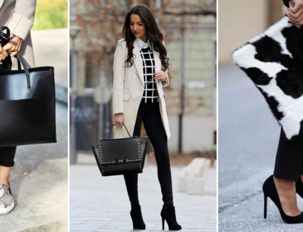 5 fekete táska típus, ami minden gardróbban ott kellene lapuljon