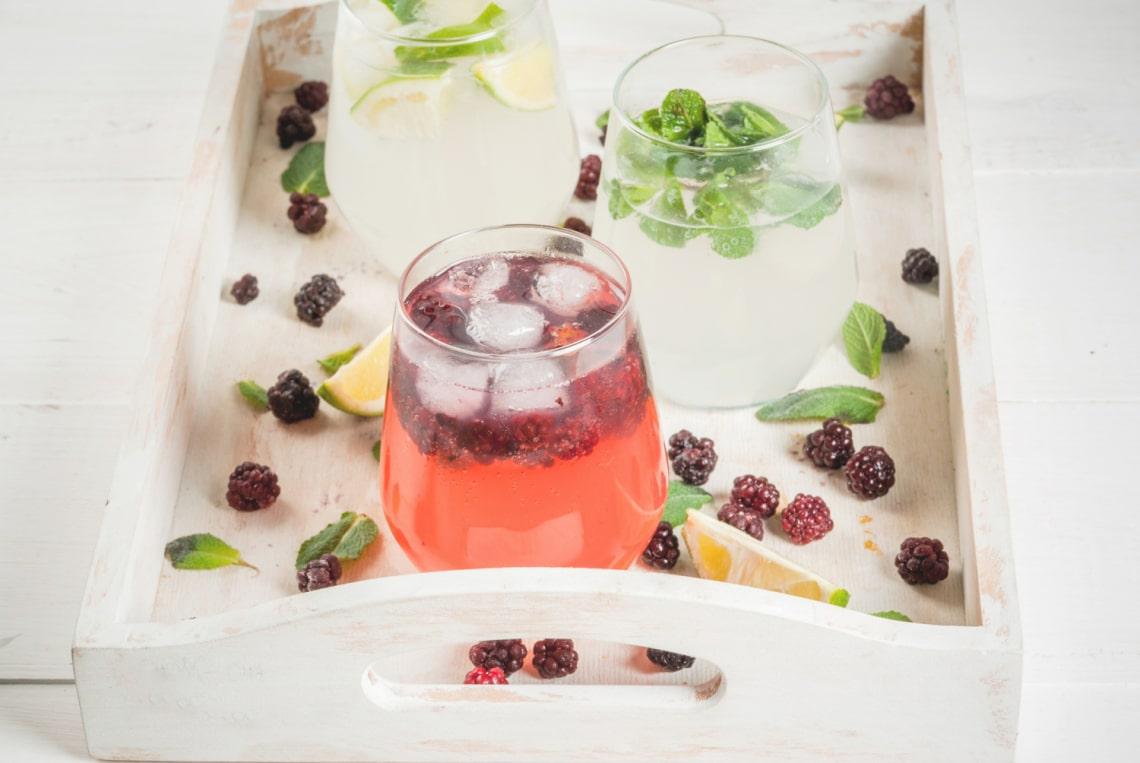 5 frissítő ital víz helyett, ha ebben is kényeztetnéd magad