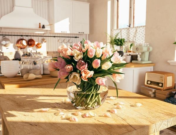 5 inspiráló dekorötlet, ha tavaszi hangulatba hoznád a lakást