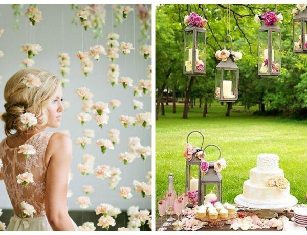 5 mesébe illő esküvői dekoráció – saját kezűleg