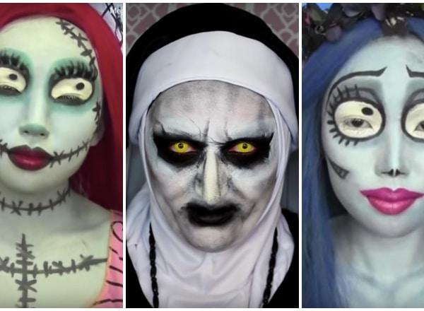 5 tutorial videó, amivel profi sminket csinálhatsz halloweenra