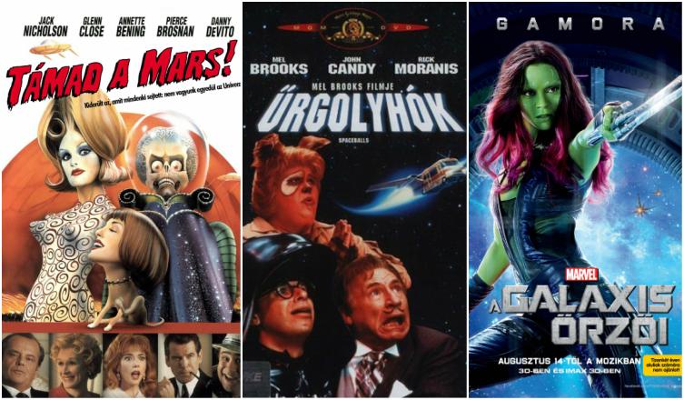 5 vicces sci-fi, amit nem elég egyszer megnézni