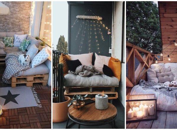 5+1 észbontó ötlet: alakítsd otthonossá a kicsi erkélyed