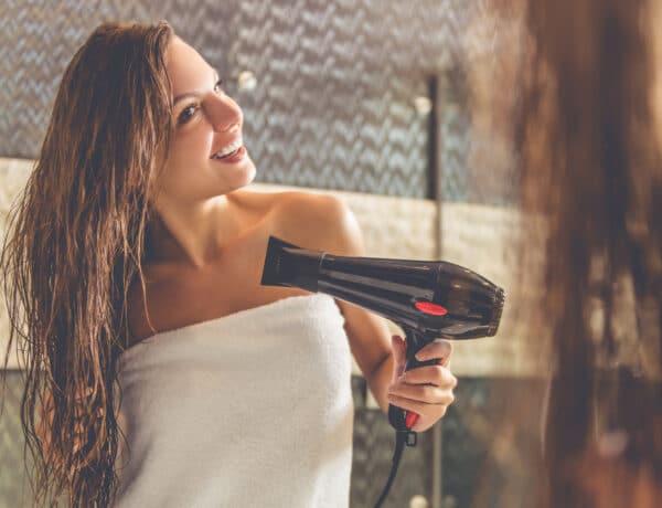 5+1 gyors hajszárítási trükk, hogy csodás legyen a frizurád