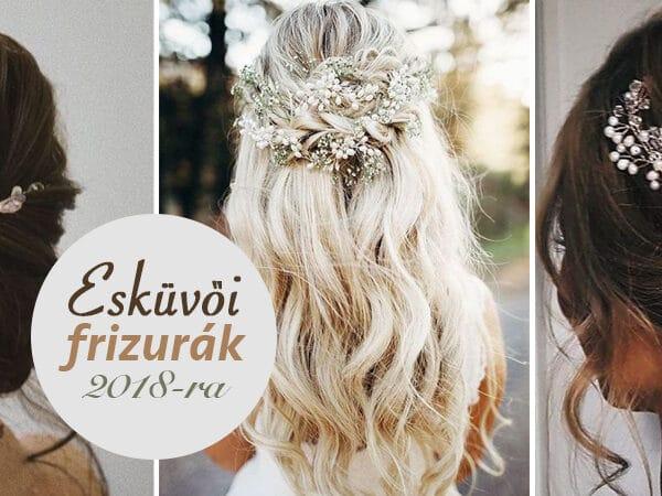5+1 meseszép esküvői frizura hosszú hajból