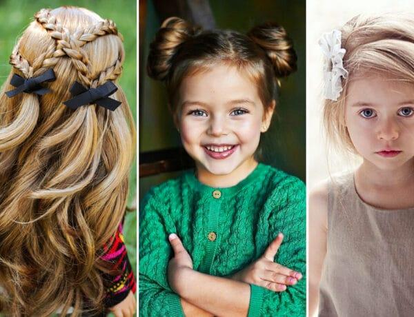 5+1 tündéri frizura, amiket könnyen elkészíthetsz a kislányodnak vagy akár magadnak is