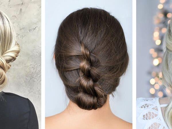 5+1 trendi feltűzött frizura, hétköznapra is