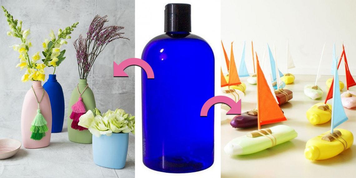 6 kreatív dolog, amit egy kiürült tusfürdős flakonból készíthetsz