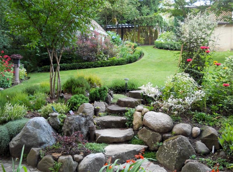 6 meseszép sziklakert, amitől földi paradicsommá válik a kert