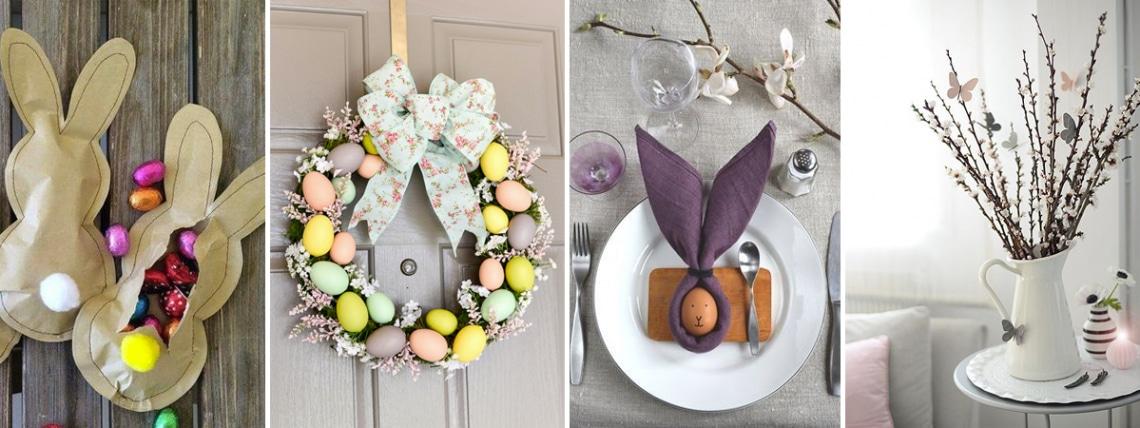 6 végtelenül egyszerű húsvéti dekor, fillérekből – Így készítsd el!