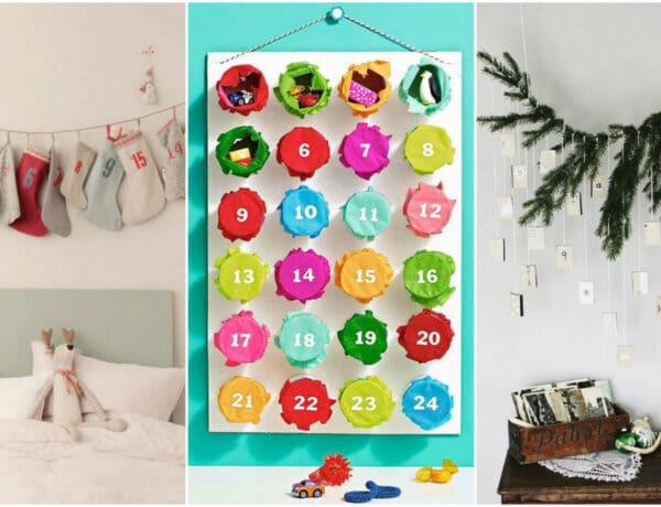 7 ötletes adventi naptár, amit imádni fognak a gyerekek