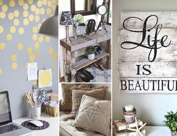 7 drága dekoráció, amelyet te is könnyen elkészíthetsz otthon