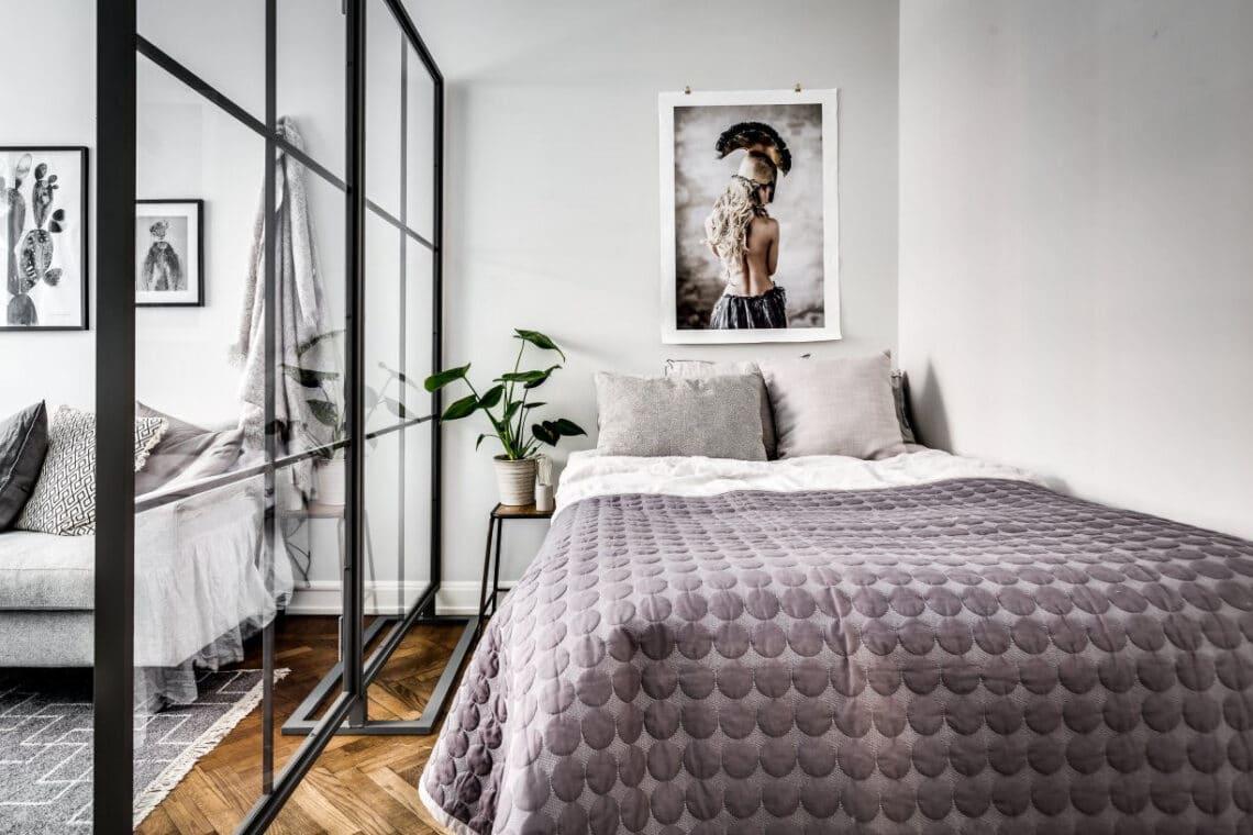 7 egyszobás lakás lenyűgöző tárhelyekkel és hasznos megoldásokkal