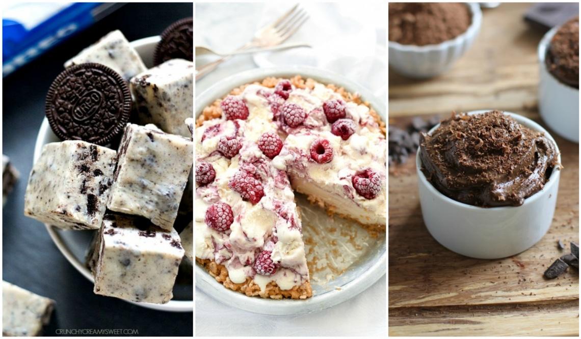7 mennyei desszert kevesebb, mint 5 hozzávalóból