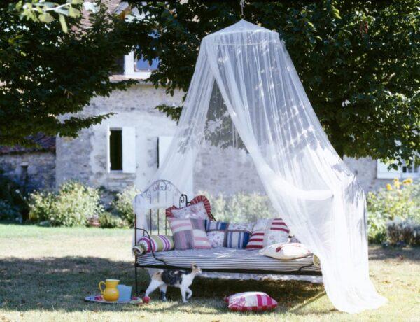 7 romantikus szúnyogmentes zug nyárestékre, kültérre