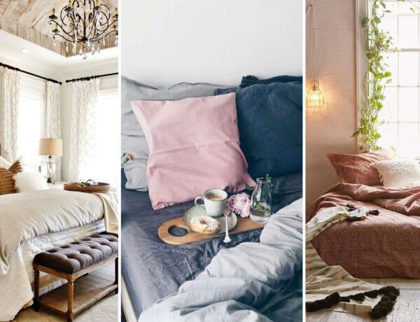 8 dekortipp, hogy a hálószobád tényleg a pihenésről szóljon