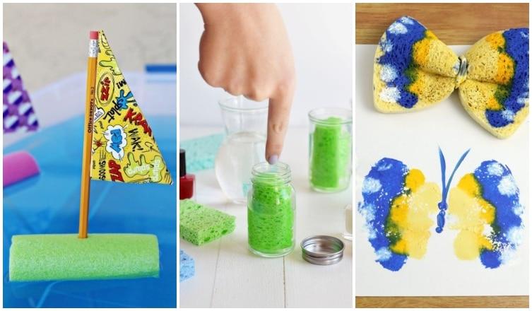 8 szuper ötlet a mosogatószivacs kreatív felhasználásához