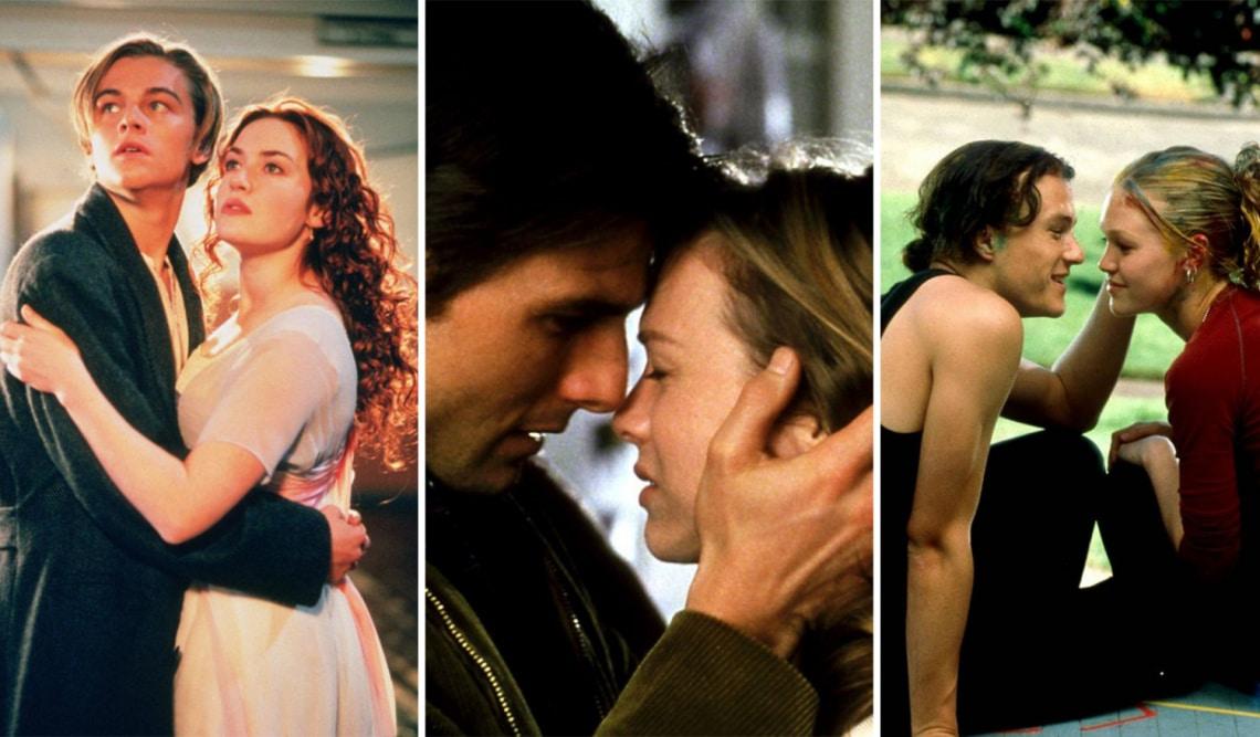 A 10 legcukibb filmes szerelmespár a 90-es évek kasszasikereiből