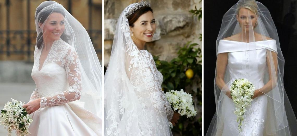 A 10 legszebb királyi esküvői ruha