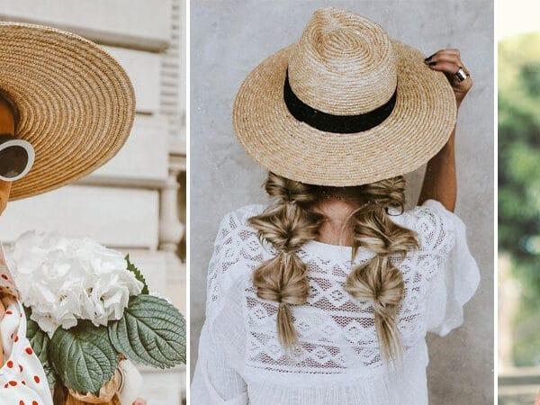 A 2021-es szuper sikk kiegészítő: kalapos nyári szettek