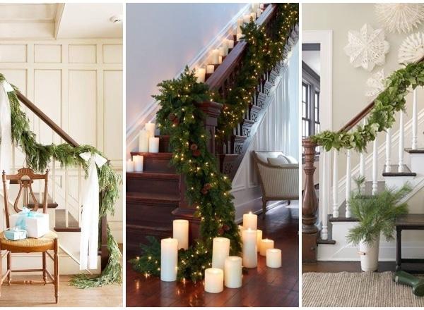 A lépcső se maradjon ki! Így dekorálhatod az ünnepi időszakra