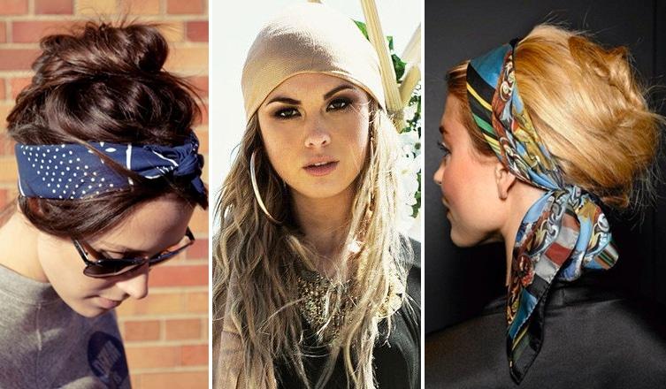 A legújabb őszi hajtrend: frizurák selyemsállal