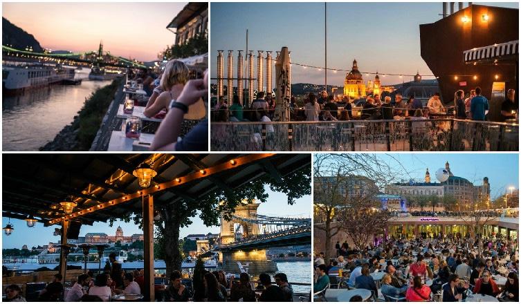 A leghangulatosabb budapesti szabadtéri helyek, nem akármilyen panorámával