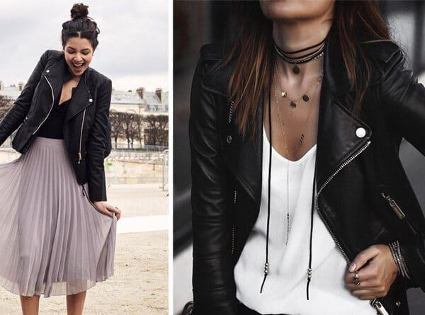 A legmenőbb őszi ruhadarabod, a fekete bőrdzseki – Így hordd!