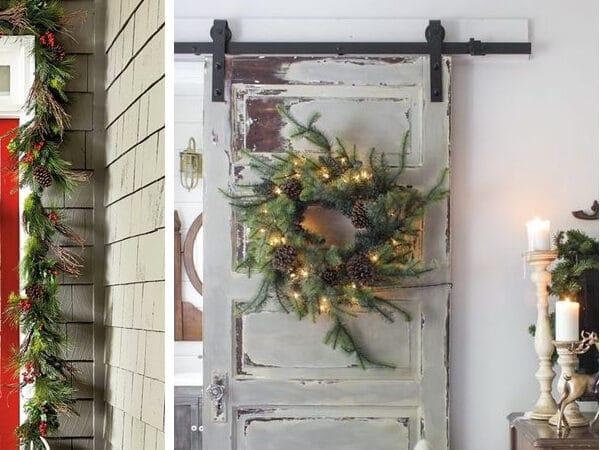 A legszebb karácsonyi ajtódíszek, amiket idén muszáj elkészítened