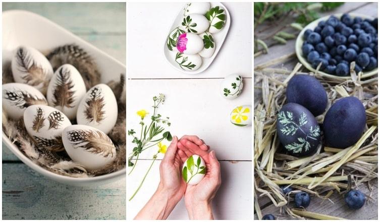 A legszebb, természet ihlette tojásdíszítési technikák