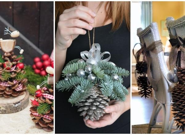 A legszebb tobozból készült karácsonyi díszek