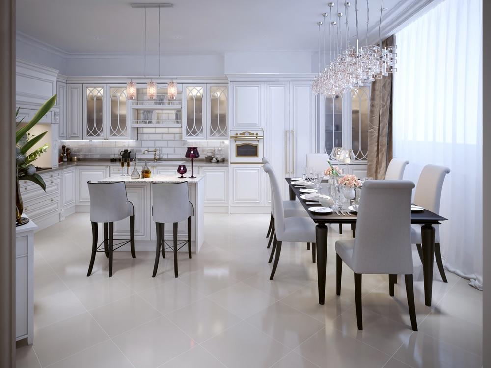 A méltatlanul mellőzött fehér: ilyen gyönyörű lehet a konyhában