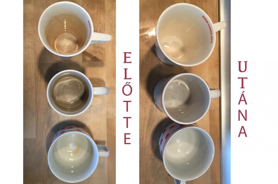 A módszer, ahogyan megszabadulhatsz a teafoltoktól a bögrékben – Kipróbáltam!