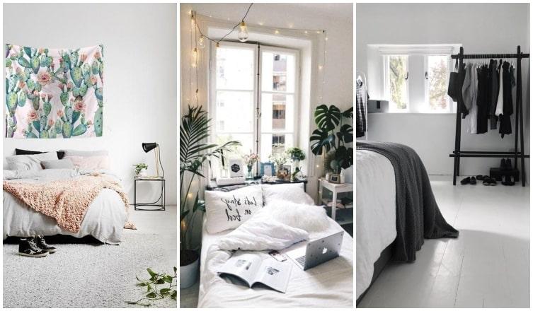 A minimalista hálószoba is lehet szép – trükkök, ha nem szereted a túl sok kacatot