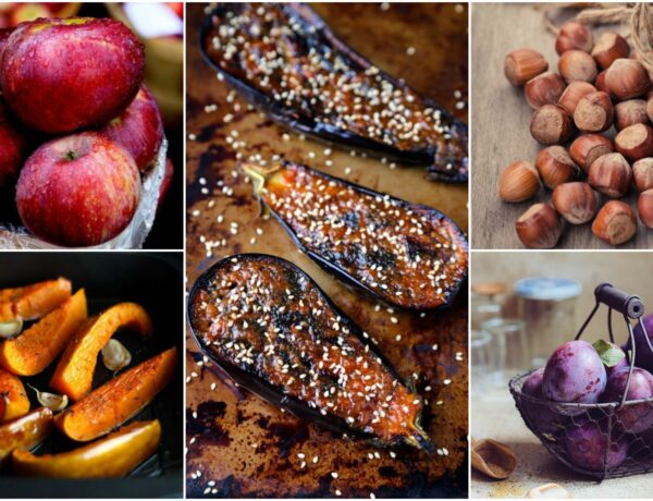 A szezon ízei: szilva, gesztenye, tök, alma, padlizsán
