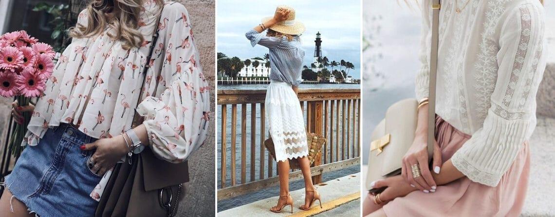 A szoknya a középpontban: 7 csodaszép romantikus nyári outfit – Naná, hogy hordanád!