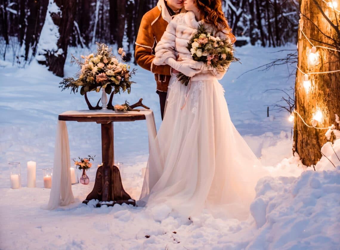 A téli esküvő varázsa – 9 érv, amitől te is kedvet kapsz hozzá