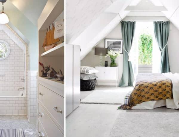 A tetőtér is lehet luxus – inspirációk