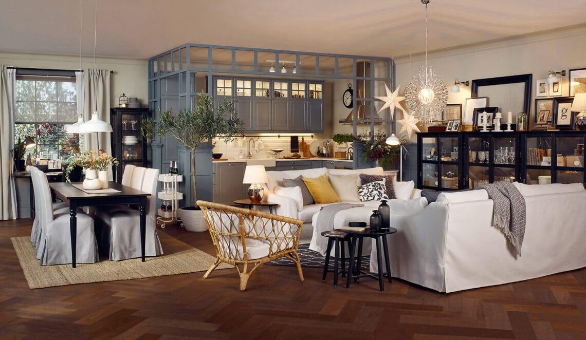 Amerikai konyhás nappali 25 négyzetméteren: így rendezd be, ha szűkös a hely