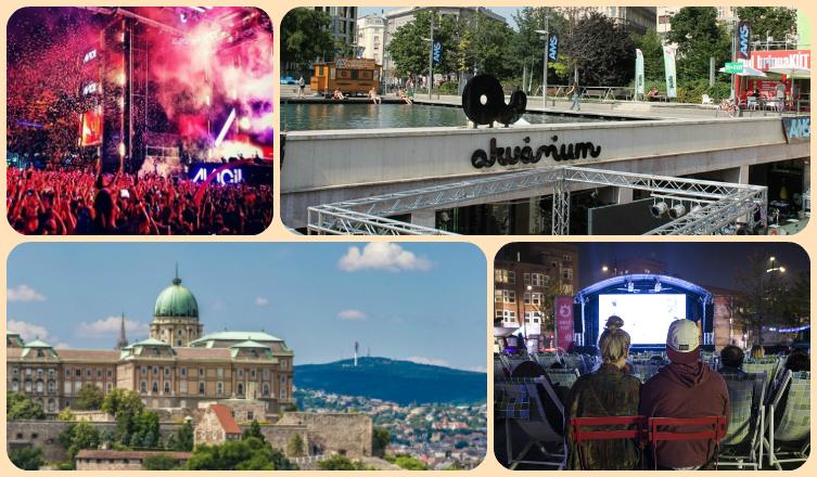 Augusztus 10-16.: Sziget Fesztivál, medencés buli és design vásár vár rád ezen a héten