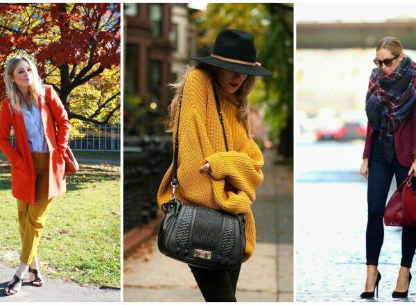 Az ősz sztár színei: téglavörös, mustársárga, bordó