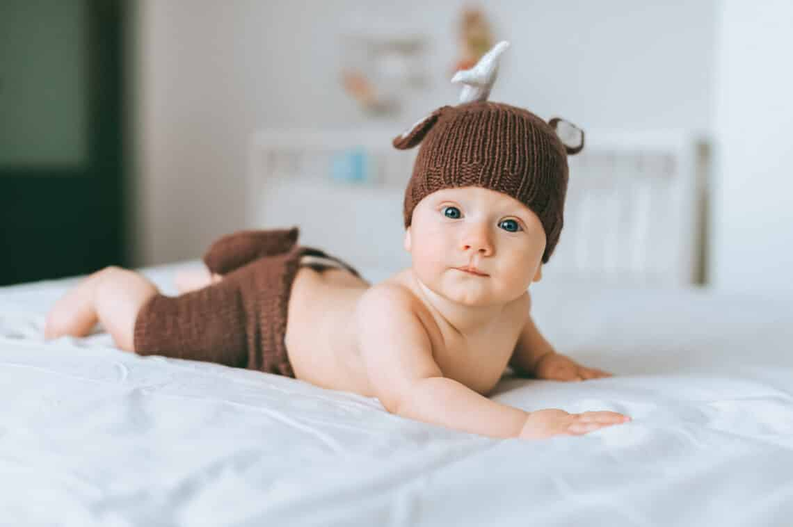 Az alábbi hatalmas fejlődésen megy keresztül a baba az első 6 hónapban